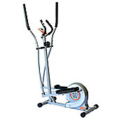 Homcom 8 Levels Exercise Cross Trainer Cardio Magnetic Resistance Gym w/ LCD Monitor