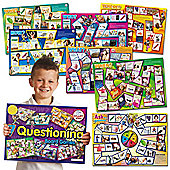 Smart Kids Seven Questioning Skills Board Games