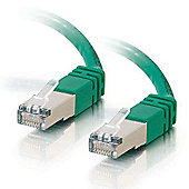 C2G 7m Cat5e Shielded Moulded Patch Cable (Green)