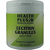 Health Plus Lecithin GranulesVegan 250g Powder