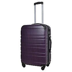Tesco  4-Wheel Medium Purple Suitcase
