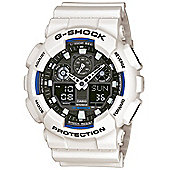 Casio G-Shock Mens Alarm Watch - GA-100B-7AER