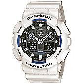 Casio G-Shock Mens Resin Alarm, Stopwatch Watch GA-100B-7AER