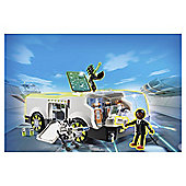 Playmobil 6692 Super 4 Chameleon Command Vehicle with Gene