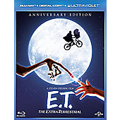 E.T. The Extra Terrestrial (Blu-Ray + E-Copy + Ultraviolet)