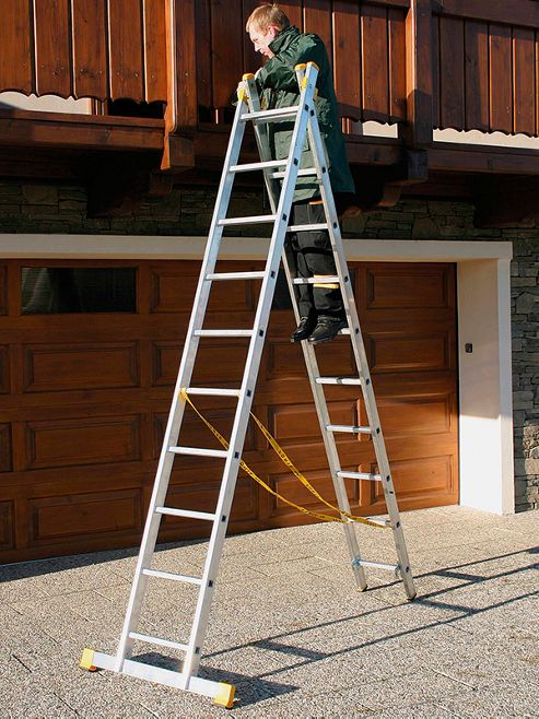 Trade 4Way 3.56m (11.68ft) Triple Combination Ladder