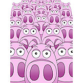 Piggy Parade Canvas