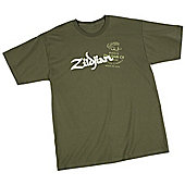 Zildjian Military Green T-Shirt Small