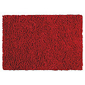Tesco Soft Shaggy Rug 100 x 150cm, Berry
