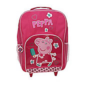 Peppa Pig 'Hopscotch' Premium Backpack Wheeled Bag