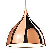 Value by Wayfair Oxalis 1 Light Bowl Pendant Light - 60W E27