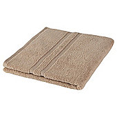 Tesco 100% Combed Cotton Bath Towel Taupe