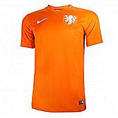 2014-15 Holland Home World Cup Football Shirt - Orange