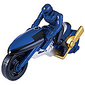 Power Rangers Super Megaforce Blue Cycle With Figure
