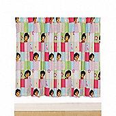 Dora the Explorer 'Buttons' 66 X 54 inch Drop Curtains