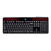 Logitech K750 Wireless Solar Powered Keyboard (Black) for Mac with Unifying 2.4GHz Mini USB Receiver CBID:2152768
