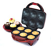 American Originals 6 cupcake maker - red