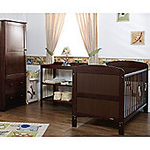 Obaby Grace 3 Piece Furniture Set - Walnut