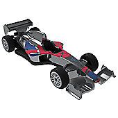 London 2012 - GB Racers - Paralympics GB Single Seater - Chrome - Hornby