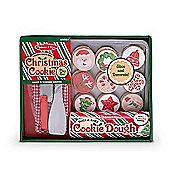Melissa & Doug Slice & Bake Christmas Cookie Play Food Set