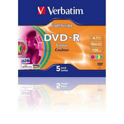 Verbatim DVD-R Lightscribe Colour V1.2