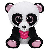 TY Beanie Boo Plush - Cutie Pie the Panda 15cm (Valentines Exclusive)