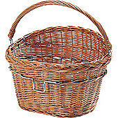 Rixen & Kaul Wicker Front Basket. Without KF850 Adapter