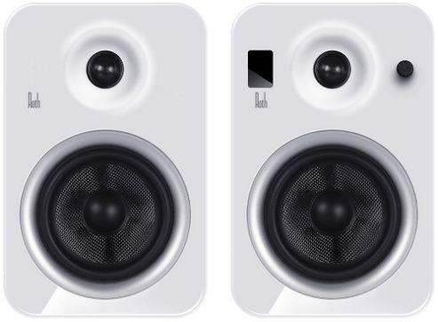 Roth OLi POWA-5 Bluetooth Active Speakers, White
