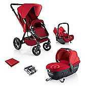 Concord Wanderer Travel Set (Red)
