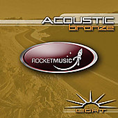 Rocket Bronze Light Acoustic Guitar String Set