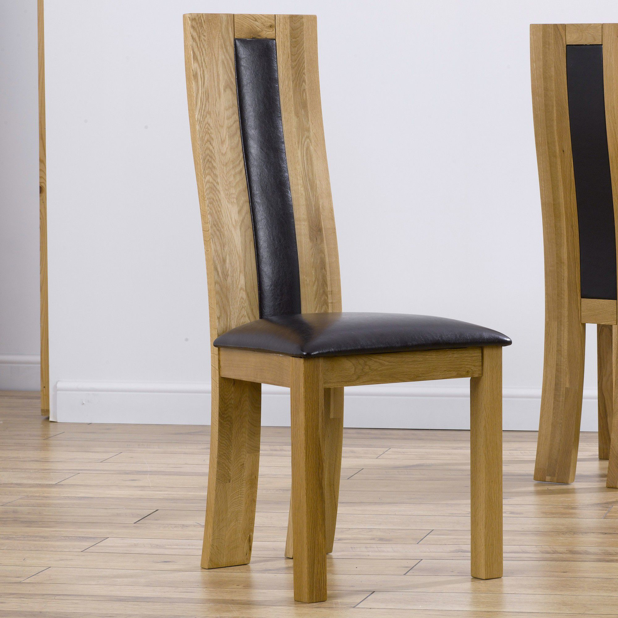 Mark Harris Furniture Havana Dining Chair (Set of 2) - Bycast Black