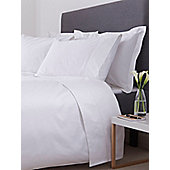 Hotel Collection 800 Thread Count Double Flat Sheet White