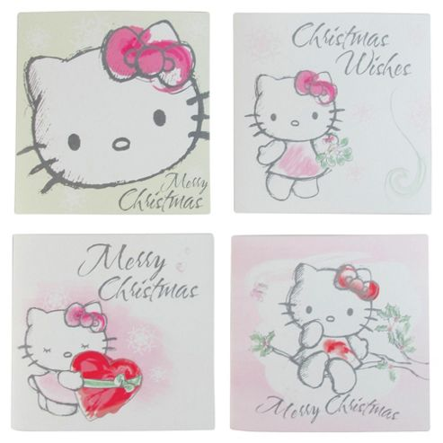 Hello Kitty Christmas Cards, 20 Pack