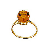 QP Jewellers 2.20ct Citrine Marvel Ring in 14K Gold