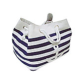 Wicker Valley Tobs Soft Storage Rectangular Anchor Bag in Blue
