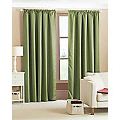 Diamond Woven Blackout Curtains - Green