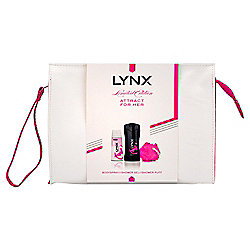 Lynx Attract for Her Washbag Gift Pack