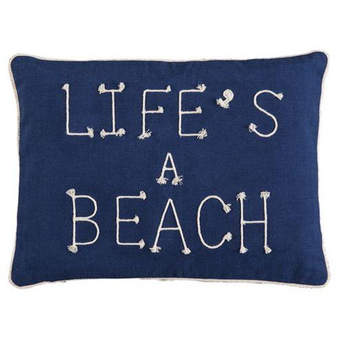 Lifes a Beach Cushion
