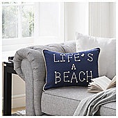 Lifes a Beach Cushion