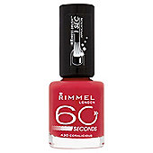 Rimmel 60 Secondnail Polish Coralicious