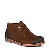 Timberland Mens Earthkeepers Rugged Lite Brown Chukka Boots - 10