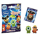 Disney Wikkeez Collectable Figures Foil Bag (Series 1) x5 Packets
