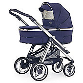 Bebecar Hip Hop Urban Magic Plus Chrome Combi Pram (Cobalt)