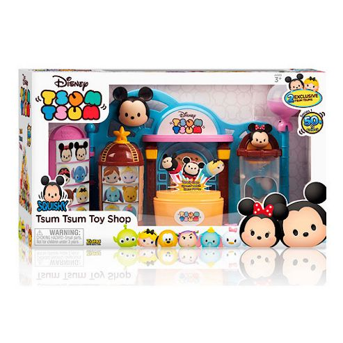 Buy Disney Tsum Tsum Squishy Figure Toy Shop Playset from our Collectables range - Tesco