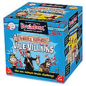 Brain Box Vile Villians Memory Card Game
