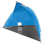 Tesco Wind Shelter Camping Windbreak, Blue