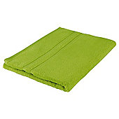 Tesco 100% Combed Cotton Bath Sheet Lime