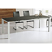 Wilkinson Furniture Mobo Extending Table - Black - Large