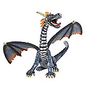 Dragon Sitting Blue/Silver - Action Figures
