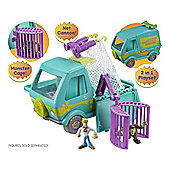 Scooby-Doo Trap Time Deluxe Mystery Machine